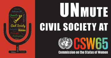 Call to action: Civil society must be meaningfully included at CSW65